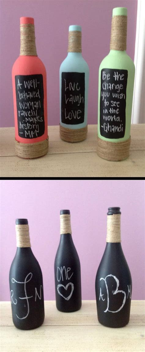 Decorate Wine Bottles - 25 best ideas about decorated wine bottles on