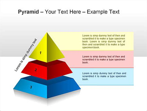 Pyramid Ppt Diagrams Chart Design