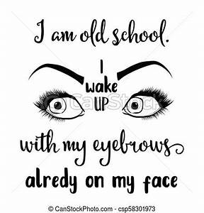 Funny hand draw... Draw Eyebrows Quotes