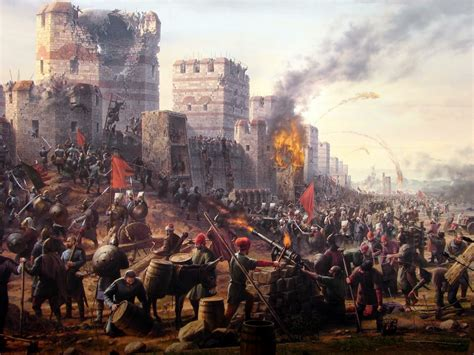 siege constantinople siege of constantinople wars battles and sieges