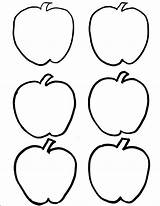 Coloring Apple Pages Food Apples Fall Sheets Lily Printable Fruit Sheet Printables Clipart sketch template