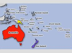 How many countries in Oceania List of Countries in