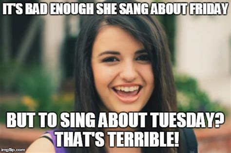 Rebecca Black Memes - its friday rebecca black meme www pixshark com images galleries with a bite