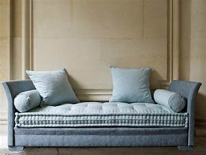 upholstered fabric sofa bed divan lit by le lit national With divan sofa bed