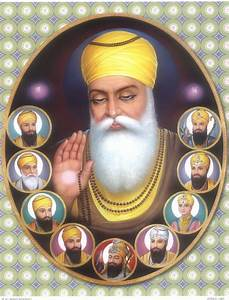 Sikh Spirtual 10 Gurus wallpaper download