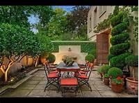 garden design ideas Mediterranean Garden Designs - YouTube