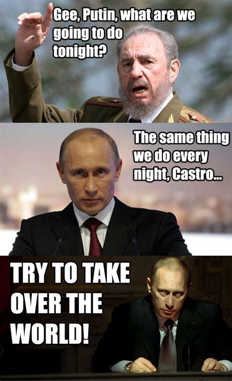 Meme Putin - castro and the put vladimir putin know your meme