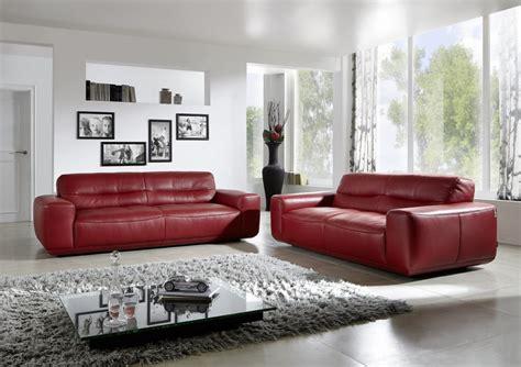 canape confort canapé cuir 2 places dumpy confort design