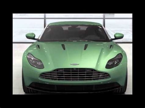 2016 Aston Martin Db11 Appletree Green Youtube