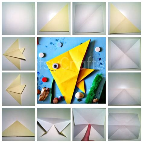 fish  fish dr seuss craft origami fish artsy