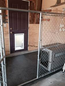 The 25 best indoor dog kennels ideas on pinterest for Outside covered dog kennels