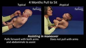 4 Month Old Typical And Atypical Motor Development