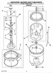 Whirlpool Wp3947517 Agitator