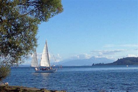 Boat Cruise Lake Taupo by Lake Taupo Sailing Cruises Boat Charters Aboard Barbary