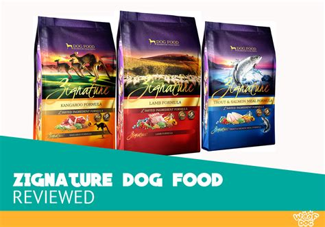 zignature dog food review dry complete ingredient