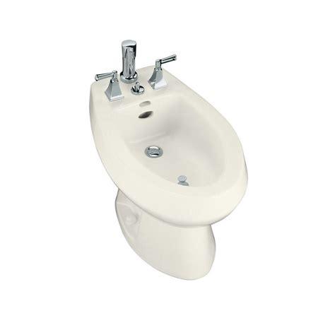 bidet toilet kohler san tropez elongated bidet in biscuit k 4854 96