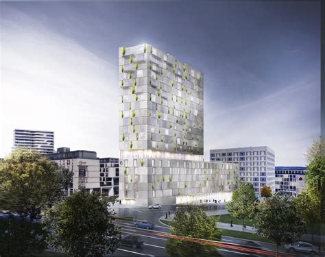 Design Stuttgart by Rkw Architektur Wins Competition For Clad Mixed