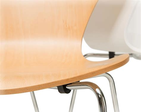 arne jacobsen stuhl 3107 ein steelform designklassiker