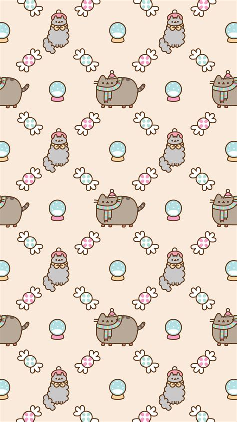 Pusheen Background Free Pusheen Android And Iphone 174 Wallpapers