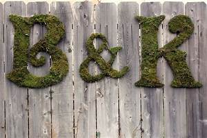 All things katie marie throwback thursday moss covered for Moss letters