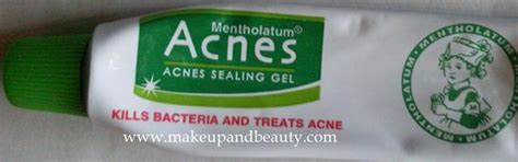 Acnes Sealing Gel 18gr rohto acnes acne sealing gel indian makeup and