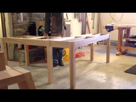 how to build a l l shaped desk design youtube