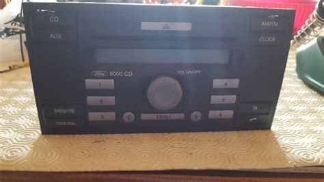 Ingresso Aux - ingresso aux fai da te stereo ford 6000 cd