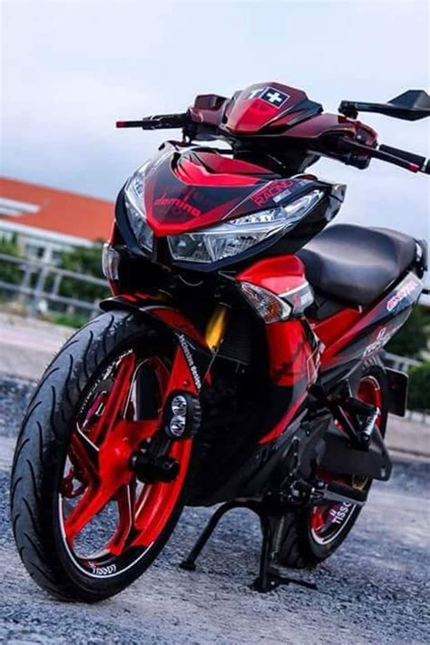 Pakai Batok King by Modifikasi Yamaha Jupiter Mx King 150 Pakai Headl Honda