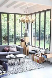 deco photo terrasse balcon veranda et tapis sur decofr With tapis moderne avec mini canapé balcon
