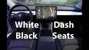 Tesla Model 3 Dashboard Swap (Black Seats + White Dash) - YouTube
