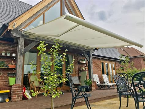 weinor semina life patio awning fitted  wiltshire awningsouth