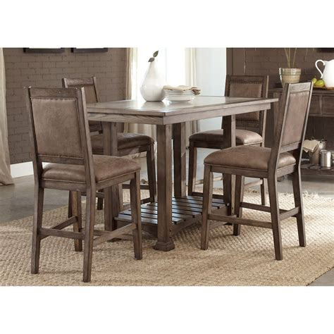 counter height kitchen island dining table liberty furniture fairfield counter height table dining 9487