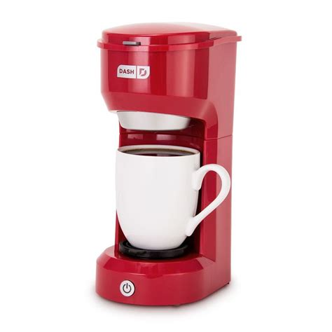 It is a compact and sleek look single cup coffee maker. Dash Single Serve Drip Coffee Maker Reviews 2020