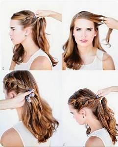 Einfache Frisuren Zum Nachmachen Einfache Frisuren F R Lange Haare