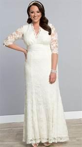 plus size ivory wedding dresses pluslookeu collection With ivory plus size wedding dresses