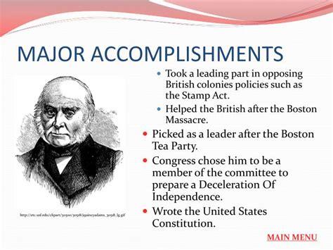 John Adams Powerpoint Presentation