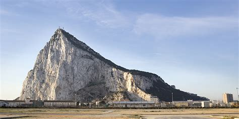rock of gibraltar l a company is turning tunnels carved through the rock of