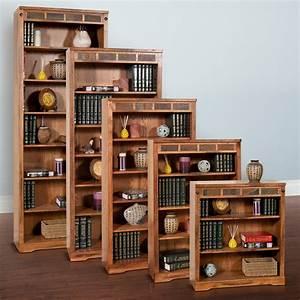Sunny, Designs, Sedona, Bookcase, -, Rustic, Oak
