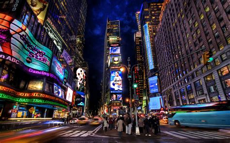 times square night wallpapers hd wallpapers id