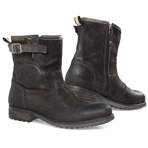 motorcycle boots revit bleeker brown motorcycle mens scooter cafe casual