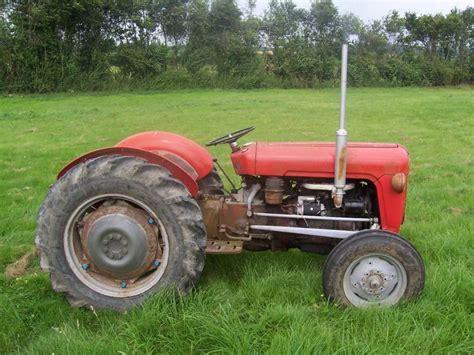 Image Detail For Massey Ferguson 35 Vintage Tractor