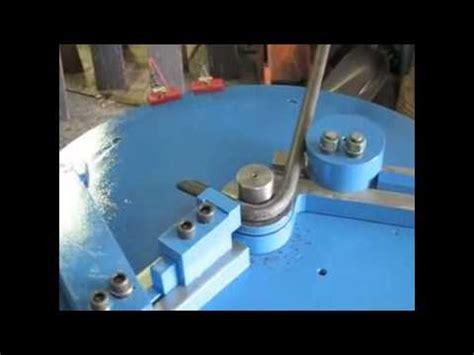 bar stock banding eye bolt bending machineeye bolt bender youtube