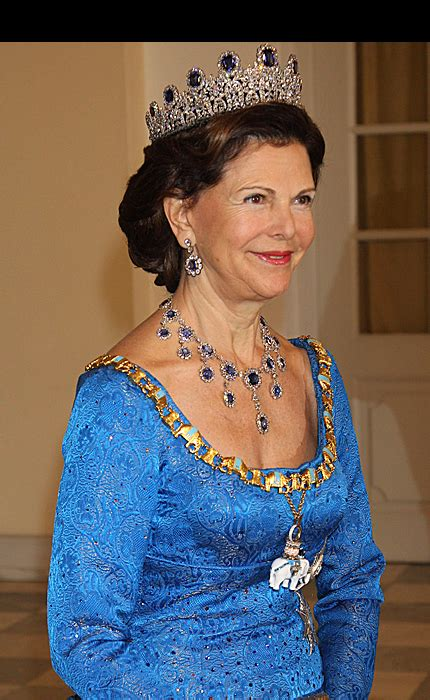 Marie Poutine's Jewels & Royals: Queen Silvia of Sweden