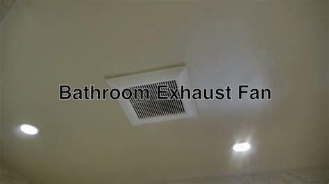 panasonic bathroom exhaust fan  attic ceiling