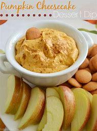 Pumpkin Dip with Vanilla Wafers