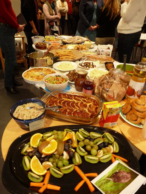 International Potluck Food