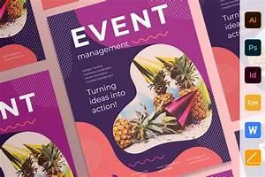 event management poster creative flyer templates