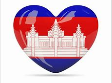 National flag of Cambodian flag JANCOK