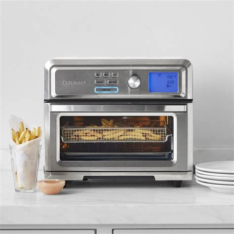 fryer oven air cuisinart toaster digital ovens kitchen cooking sonoma williams recipes racks toa frying