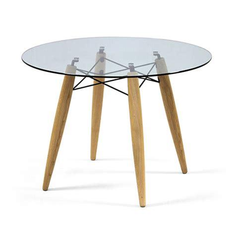 Tisch Holz Glas esstisch rund glas bestseller shop f 252 r m 246 bel und